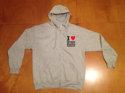 Logo Zip Hoody Athletic Heather Grey + FREE iLGGL episodes 1-10 & Q&A episode main photo