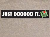 """JUST DOOOOO IT."" T-Shirt Athletic Heather Grey + FREE iLGGL episodes 1-10 & Q&A episode photo"