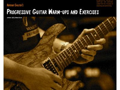 Progressive Guitar Warm-ups and Exercises PDF Download main photo