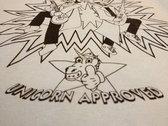 Unicorn Approved T-shirt photo