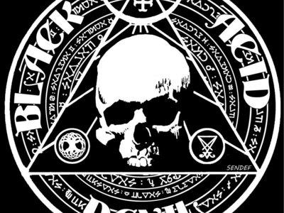 Black Acid Devil Logo Shirt main photo