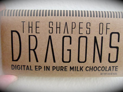 The Shapes of Dragons™ Chocolate Bar - *Limited Edition* main photo