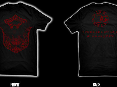 SVARTIDAUÐI - Apostles of the Apocalypse II t-shirt XXL main photo
