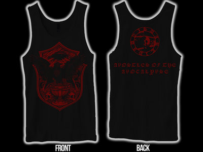 SVARTIDAUÐI - Apostles of the Apocalypse II tank-top / sleeveless main photo