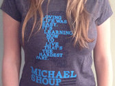 """Learning How to Live"" Ladies T-Shirt photo"