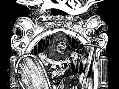 Skeletal Knight T-Shirt  (Black) main photo