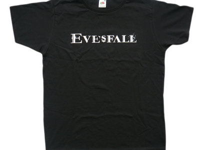 Eve's Fall logo shirt, black main photo
