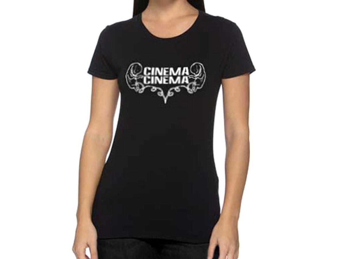 Design t shirt gildan - Ladies Black White Fetus Design Cotton T Shirt Main Photo