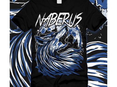 Naberus Wolf Howling T-shirt main photo