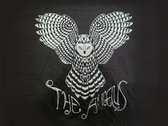 "THE ANGELUS ""OWL"" T-SHIRT - Black photo"