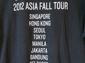 2012 Asia Tour Tee photo