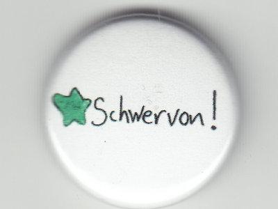 """Schwervon 1"""" Pin Button Badge (Star) main photo"""