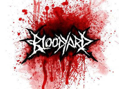 White Blood Splat Design main photo