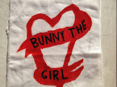 Bunny The Girl Heart Patch main photo