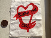 Bunny The Girl Heart Patch photo