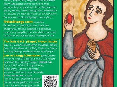 Saint Mary Magdalene - Reconciliation Card [25 Cards] main photo