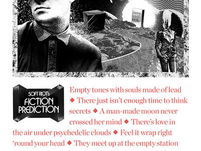 Fiction Prediction Silk-Screened Poster main photo