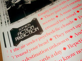 Fiction Prediction Silk-Screened Poster photo