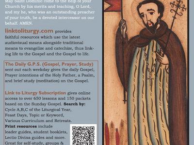 Saint Dominic - Rosary Card [25 Cards] main photo