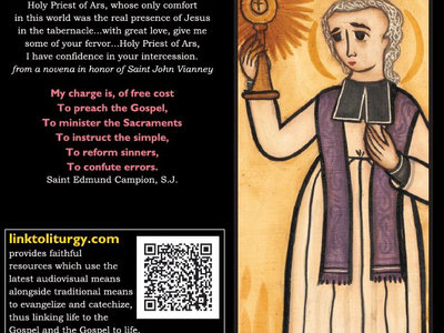 Saint John Vianney - Vocation Card [25 Cards] main photo
