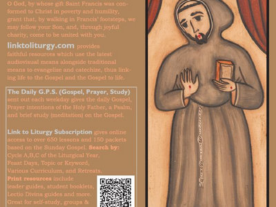 Saint Francis of Assisi - Franciscan Card [25 Cards] main photo