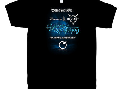 theory of revolution 2012 t-shirt main photo