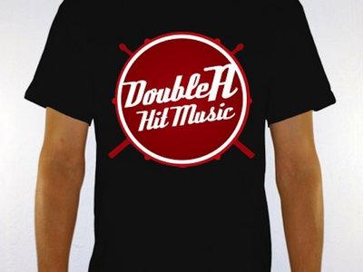 Double A Hit Music T-Shirt - Black (w/ Red & White Logo) main photo