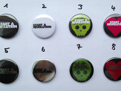 Deadly BIG Buttons (44mm) main photo