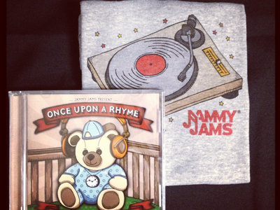 Once Upon A Rhyme CD + Digital Copy w/ Turntable Onesie main photo
