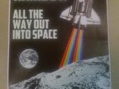 All the Way Out into Space Zine + Album photo