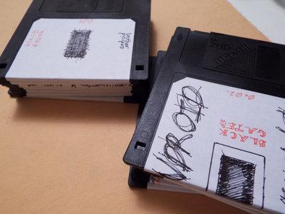 "Black Gate 3.5"" Floppy Disk main photo"