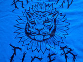 Electric Blue Sunflower Tiger photo