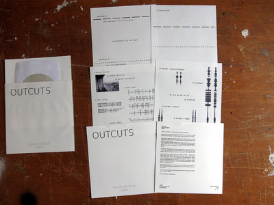 OUTCUTS by DAVID HELBICH (Limited Edition CD-R) main photo