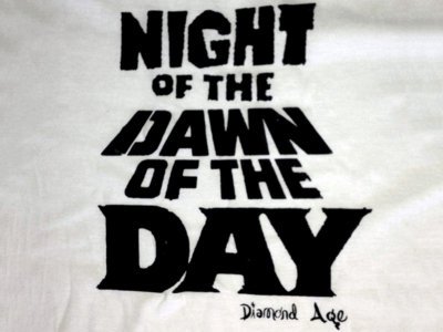 """""""NIGHT OF THE DAWN OF THE DAY"""" shirt (sold out) main photo"""