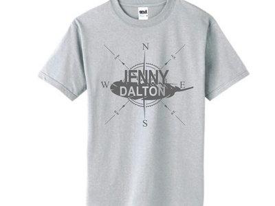 Light Grey Compass T-Shirt main photo