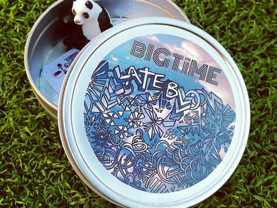 """limited edition """"LATE BLOOM"""" tins main photo"""