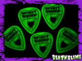 Tommy Creep's Spirit Board Glow-In-The-Dark Guitar Picks! photo