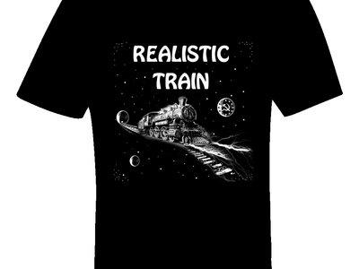 Realistic Train - Space Lightning Propulsion T-shirt main photo