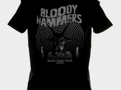 Bloody Hammers - Black Magic Tour Shirt main photo