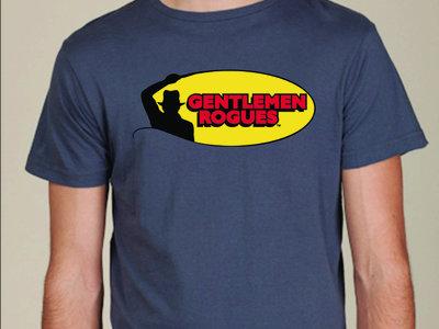 "Gentlemen Rogues ""Indy Rock"" (asphalt) t-shirt main photo"