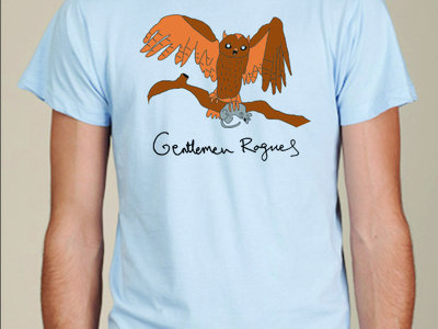"Gentlemen Rogues ""Neely Owl"" t-shirt main photo"