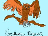 """Gentlemen Rogues """"Neely Owl"""" t-shirt photo"""