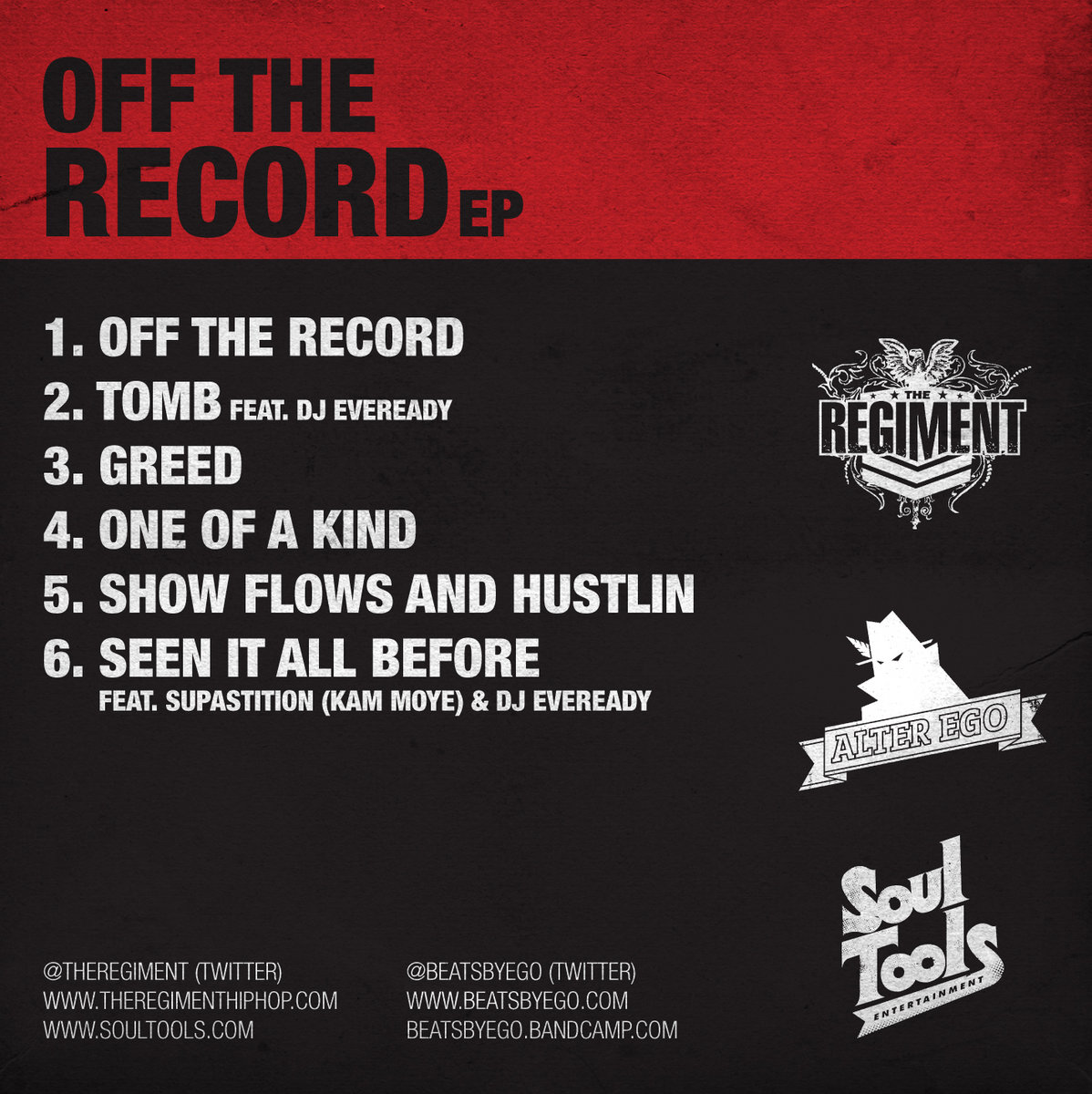 Off The Record EP [Prod  Alter Ego] | Alter Ego