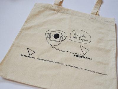 You Listen We Export (tote bag) main photo