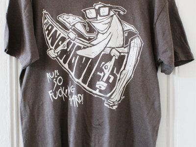 Anchovies T-Shirt. Grey. Large. main photo