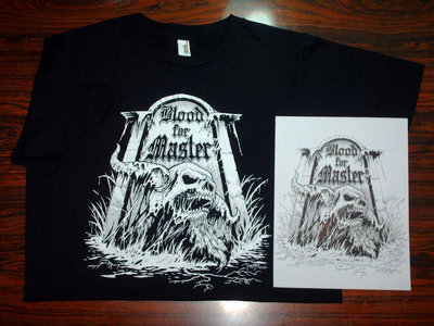 Blood For Master t-shirt main photo