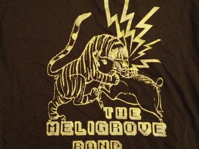 Tiger vs. Boar T-Shirt (Brown & Gold) main photo