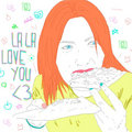 LA LA LOVE YOU image