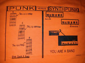 FUTURISK SYNTHPUNK  T-SHIRT (FREE SHIPPING) photo