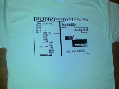 FUTURISK SYNTHPUNK  T-SHIRT (FREE SHIPPING) main photo